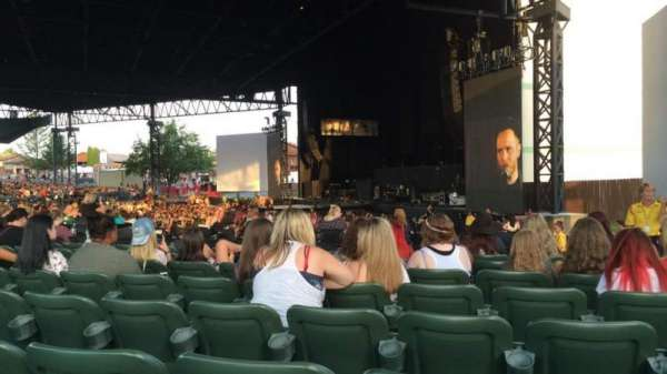 S&T Bank Music Park, section: 4, row: N, seat: 4