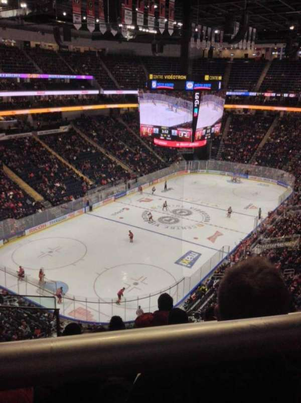 Centre Vidéotron, section: 206, row: E, seat: 18