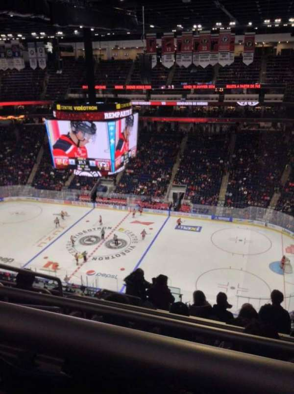 Centre Vidéotron, section: 314, row: BB, seat: 21