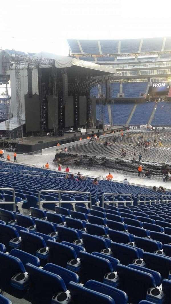 Gillette Stadium, section: 110, row: 30, seat: 15