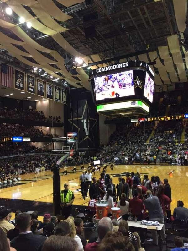 Memorial Gymnasium (Vanderbilt), section: F, row: 8