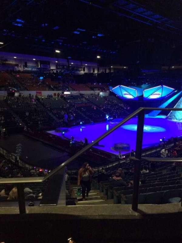 Pechanga Arena, section: T17b, row: 2, seat: 1