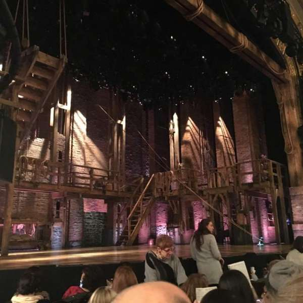 Richard Rodgers Theatre, section: Orchestra L, row: F, seat: 17