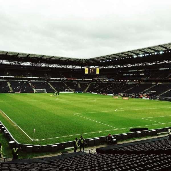 Stadium MK, section: Aisle 35, row: Z, seat: 996