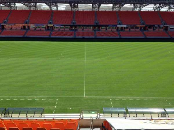 Dynamo Stadium Seating Map on