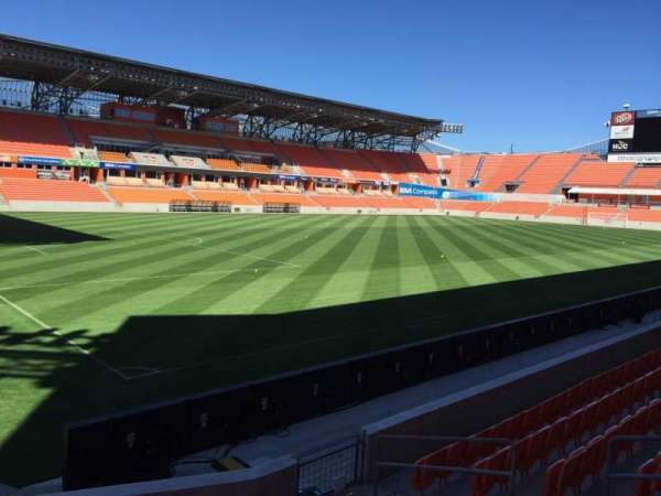 BBVA Stadium, section: 130, row: F, seat: 6