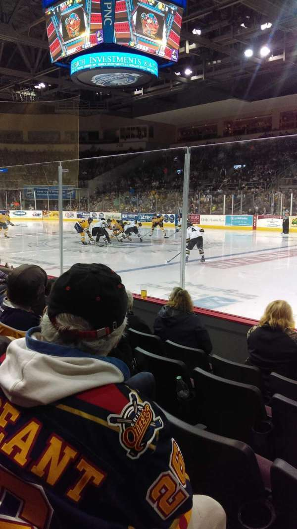 Erie Insurance Arena, section: 121, row: E, seat: 5