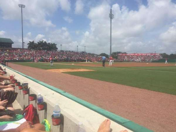 Roger Dean Chevrolet Stadium, section: 103, row: 1, seat: 12