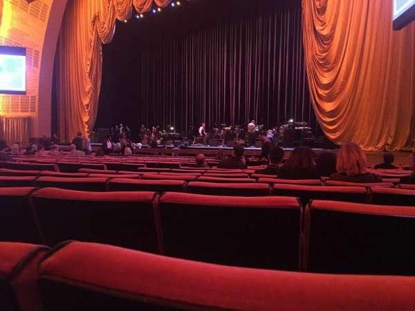 Radio City Music Hall, section Orchestra 2, row QQ, seat 206