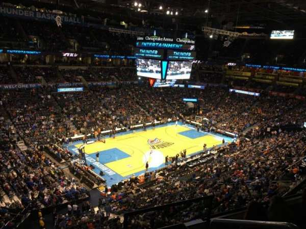 Chesapeake Energy Arena, section: 327