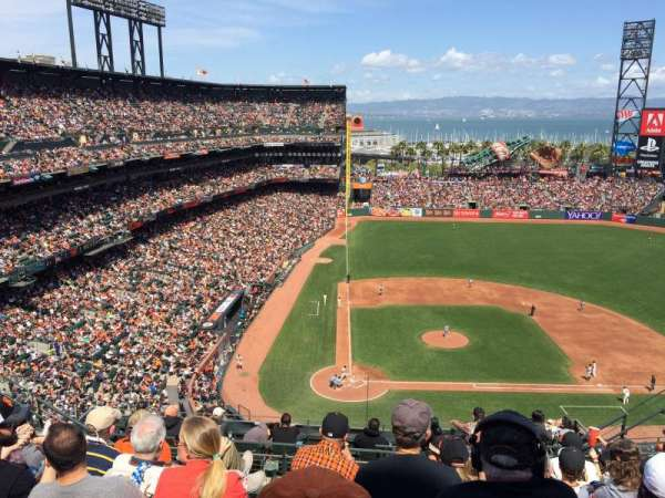 AT&T Park, section: 311, row: 7, seat: 11
