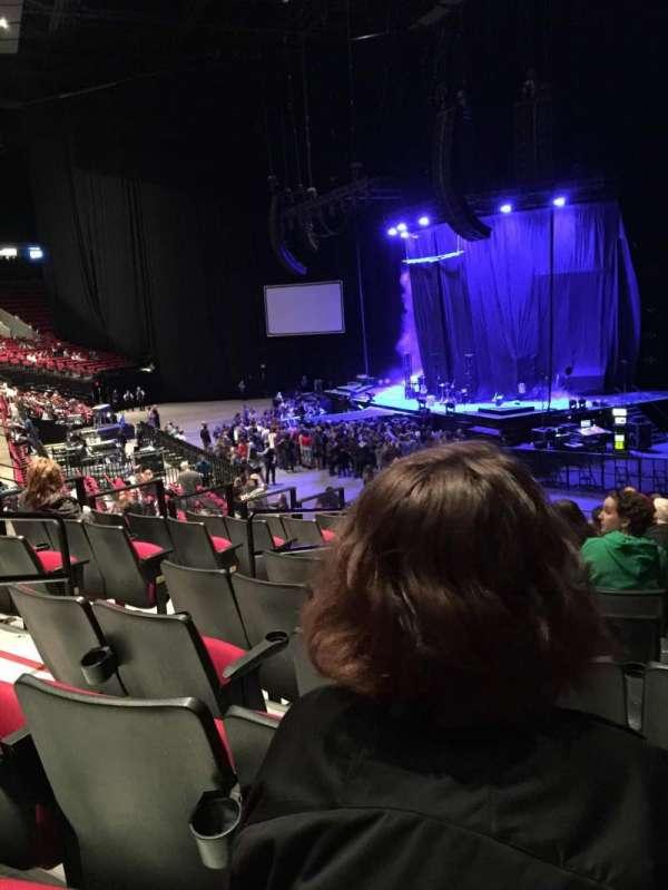 Moda Center, section: 119, row: O, seat: 22
