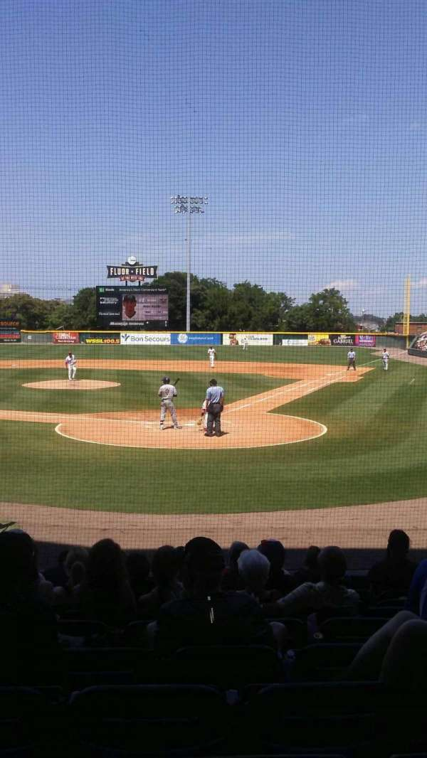 Fluor Field, section: 107, row: L, seat: 10
