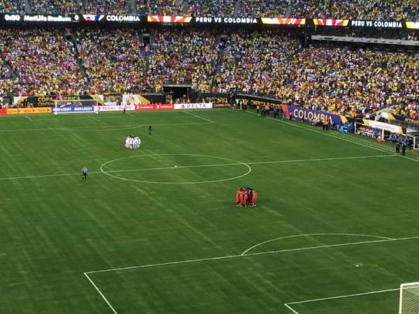 MetLife Stadium, section: 204, row: 7, seat: 19