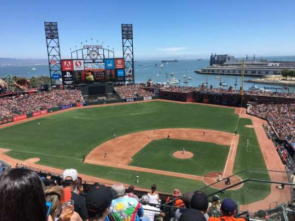 AT&T Park, section: 320, row: 5, seat: 3