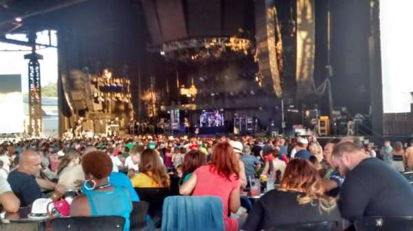 S&T Bank Music Park, section: 5, row: F, seat: 12