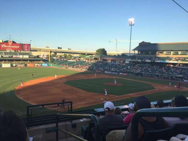 Louisville Slugger Field, section: 223, row: E, seat: 1