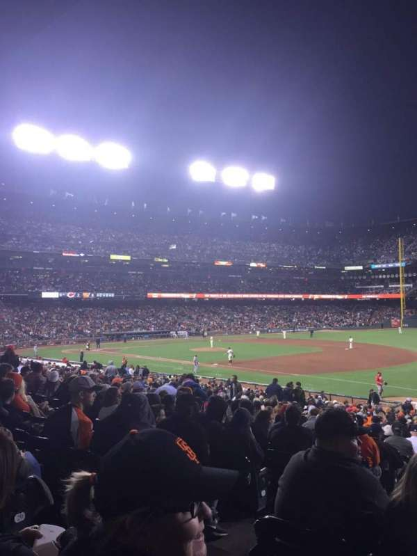 AT&T Park, section: 103, row: 31, seat: 24