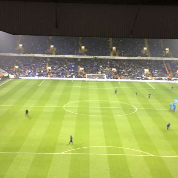 White Hart Lane, section: 53, row: 23