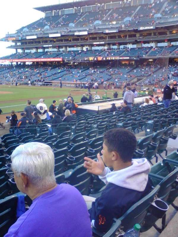 AT&T Park, section: 125, row: 14, seat: 10