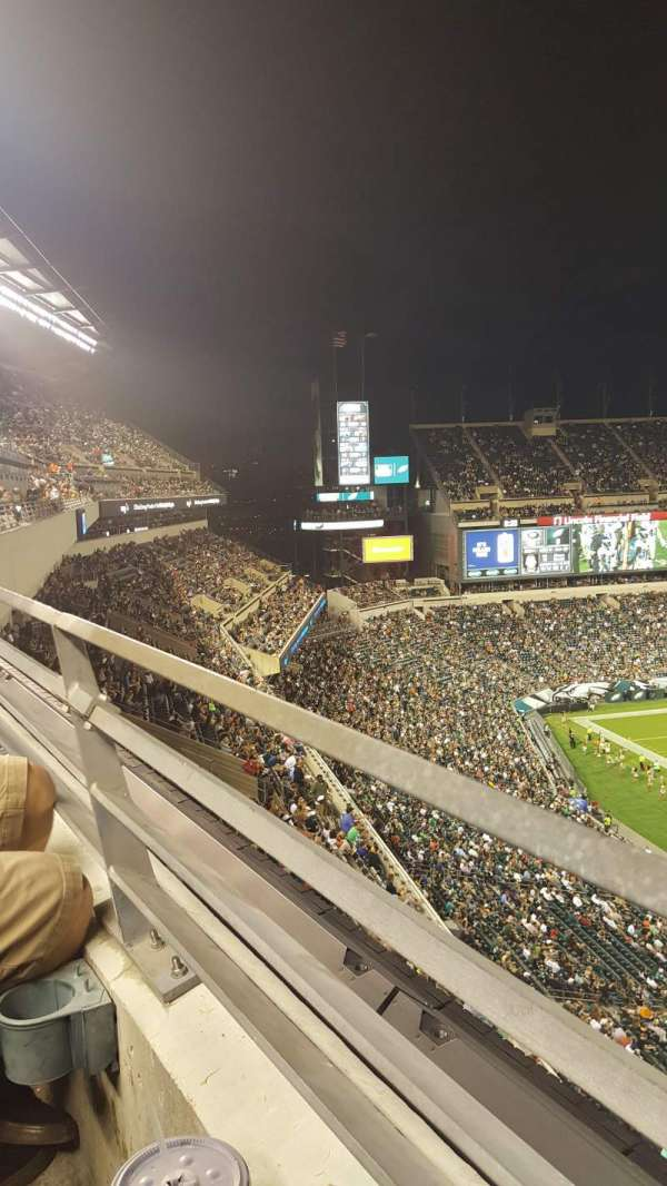 Lincoln Financial Field, section: 204, row: 1, seat: 8