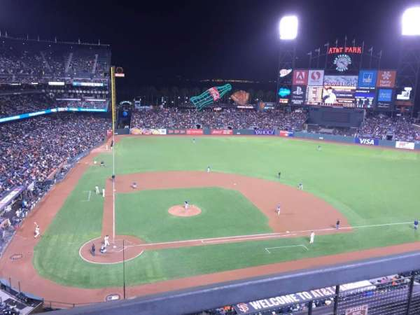 AT&T Park, section: 311, row: 1, seat: 4