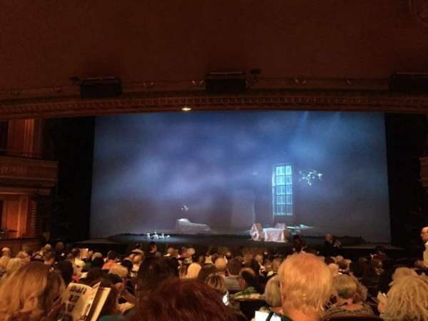 American Airlines Theatre, section: Orchestra C, row: O, seat: 106