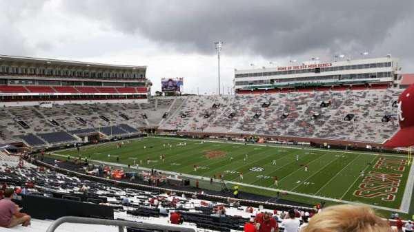 Vaught-Hemingway Stadium, section: K, row: 60, seat: 32