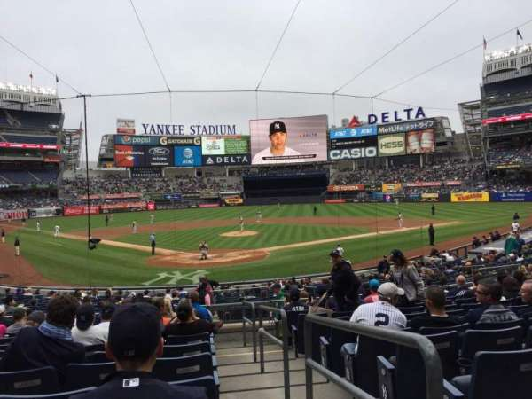 Yankee Stadium, section: 120A, row: 11, seat: /