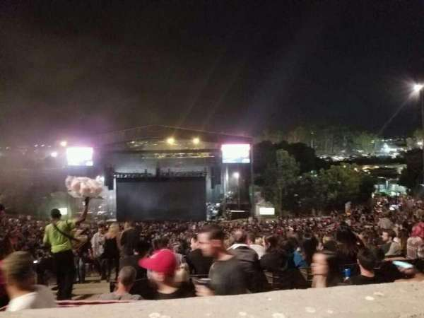 Irvine Meadows Amphitheatre, section: Terrace 11, row: AAA, seat: 31