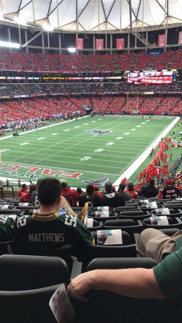 Georgia Dome, section: 205, row: 14, seat: 5