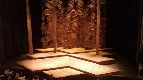 Bernard B. Jacobs Theatre, section: Mezzanine C, row: A, seat: 101