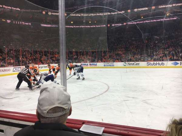 Wells Fargo Center, section: 124, row: 2, seat: 2