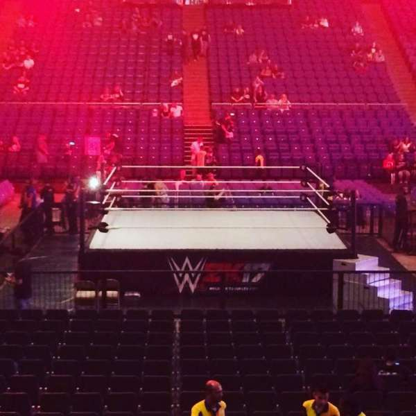 The O2 Arena, section: 111, row: N, seat: 338