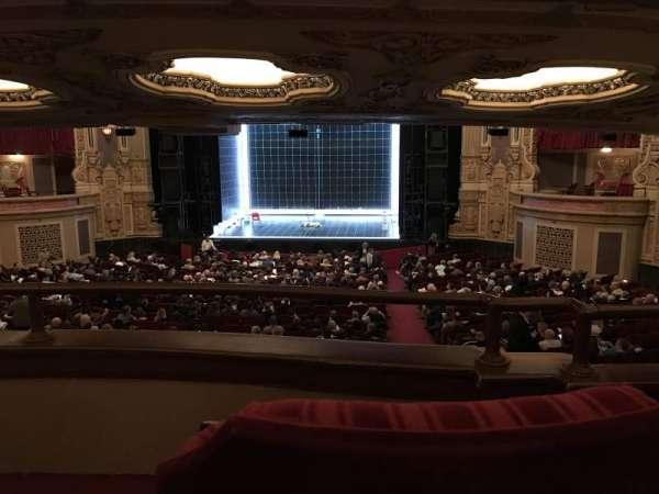 James M. Nederlander Theatre, section: Dress Circle RC, row: B, seat: 220