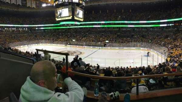 TD Garden, section: CLUB 137, row: BB, seat: 9