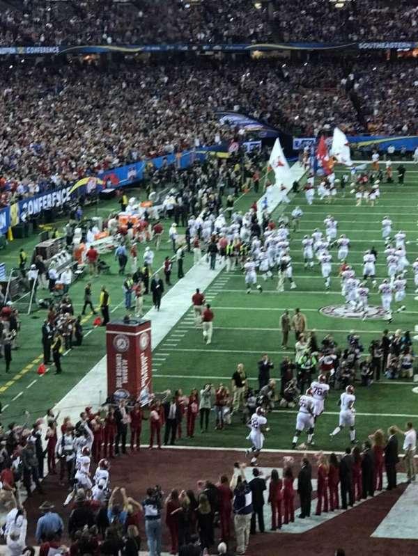 Georgia Dome, section: 209, row: 2, seat: 3