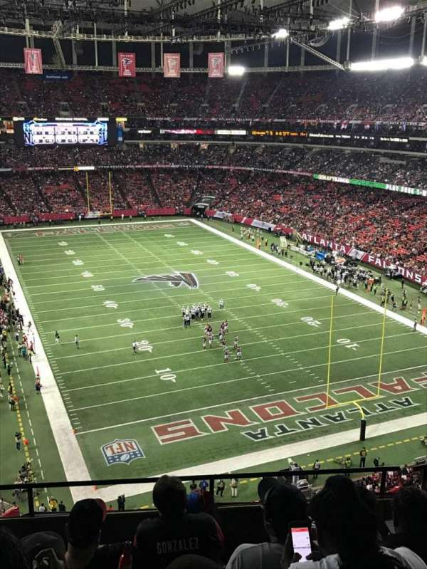 Georgia Dome, section: 311, row: 5, seat: 2