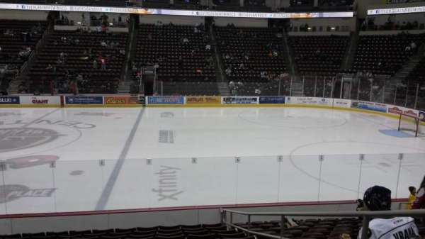 Giant Center, section: 108c, row: L, seat: 3