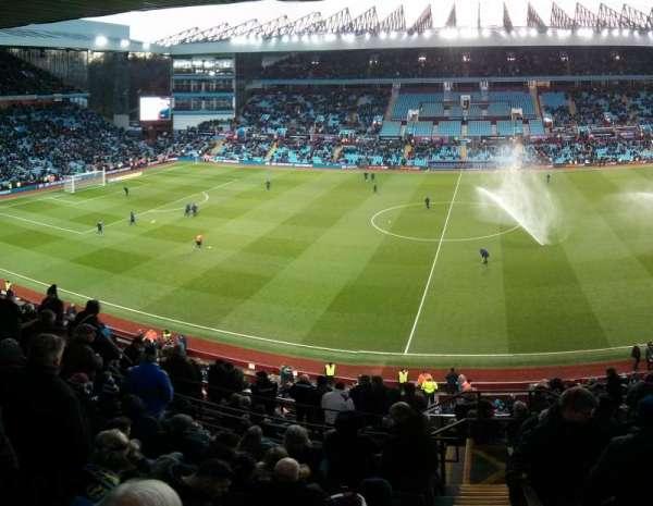 Villa Park, section: P, row: Oo, seat: 133