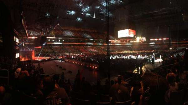 Alamodome, section: Lower, row: 118, seat: 7