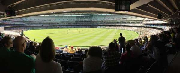Melbourne Cricket Ground, section: N13, row: J, seat: 18