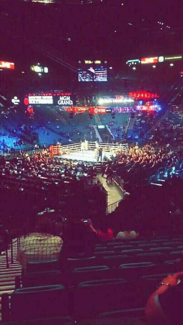 MGM Grand Garden Arena, section: 19, row: X, seat: 20