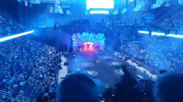 Greensboro Coliseum, section: 220, row: g, seat: 1