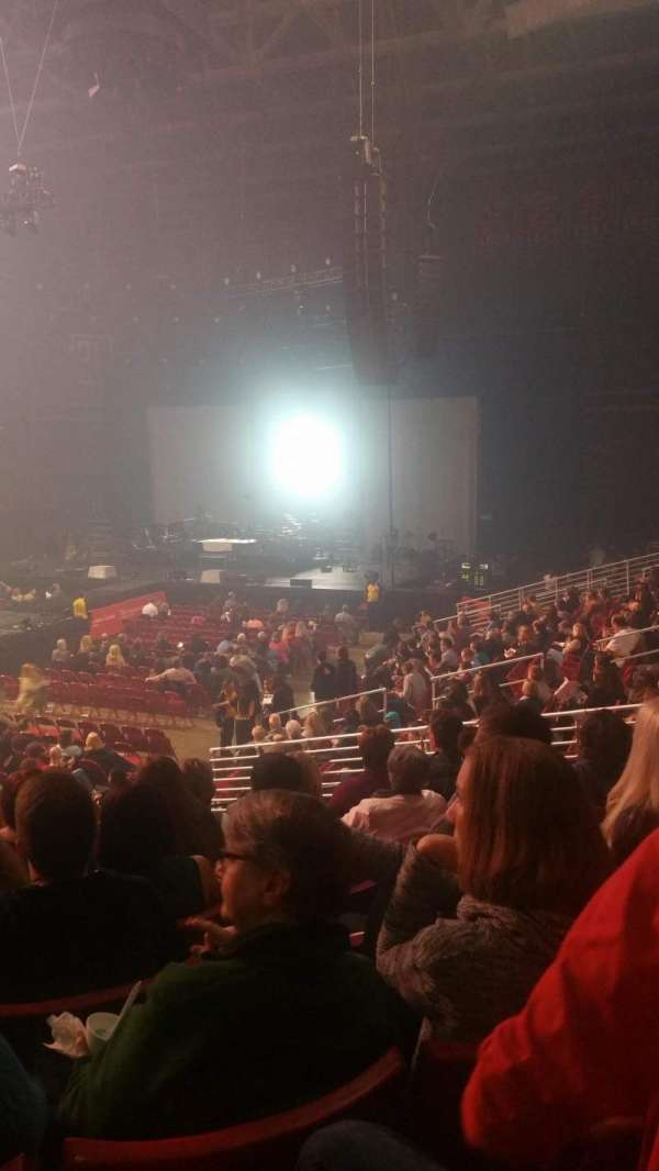 Liacouras Center, section: 106, row: S, seat: 14