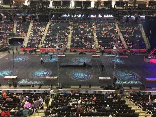 Infinite Energy Arena, section: 206, row: A, seat: 11