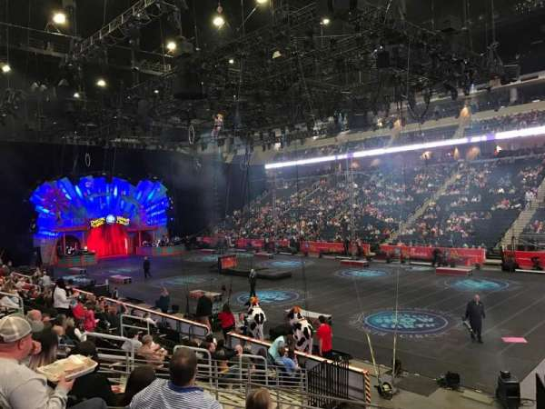 Infinite Energy Arena, section: 121, row: N