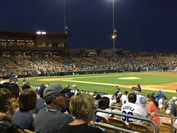 Camelback Ranch, section: 104, row: 6, seat: 18