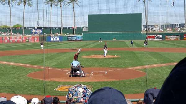 Goodyear Ballpark, section: 112, row: Q, seat: 2