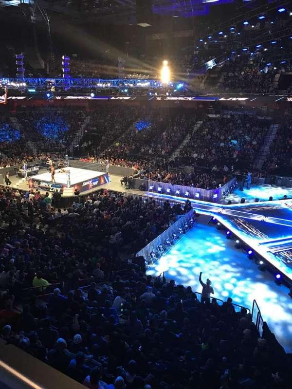 Mohegan Sun Arena, section: 105, row: A, seat: 3